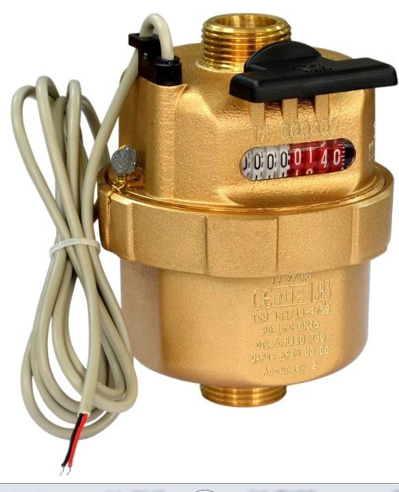 Volumetric Piston Liquid Filled Water Meter Class C/R160