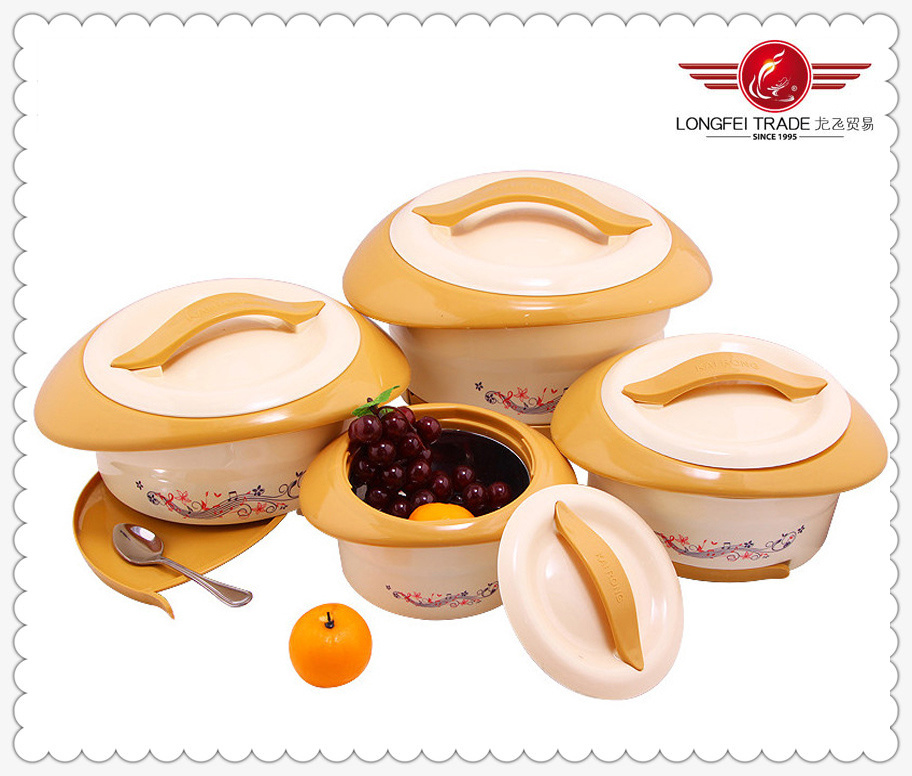 Plastic Thermal Food Warmer Container