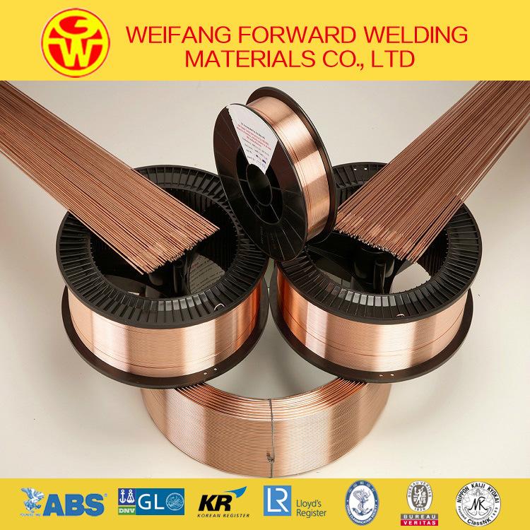 Copper Solder Wire Welding Wire Er70s-6/ Sg2/ G3si1 MIG Welding Consumable From Golden Bridge Manufacturer
