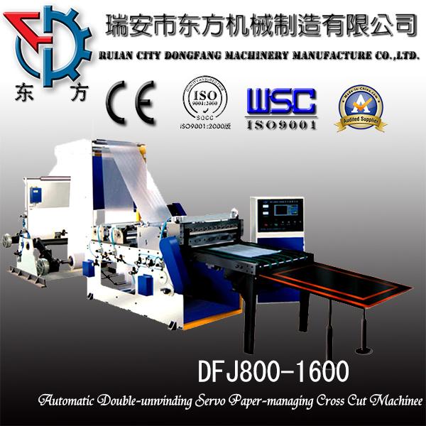 A4 Roll Paper Cross Cutting Machine to Paper Ream