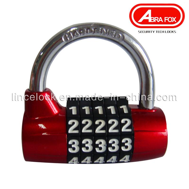 5 Digits Multi-Function Anti-Theft Combination Lock /Travel Padlock