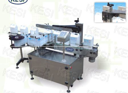 Automatic Three Sides Labeling Machine for Cosmetic