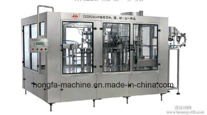 24-24-6 Full-Automatic Carbonated Drinks Filling Machine