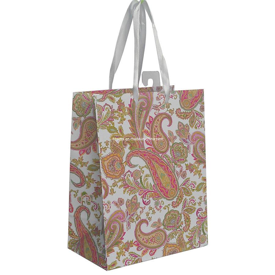 China wholesale paper gift bag xg pb photos