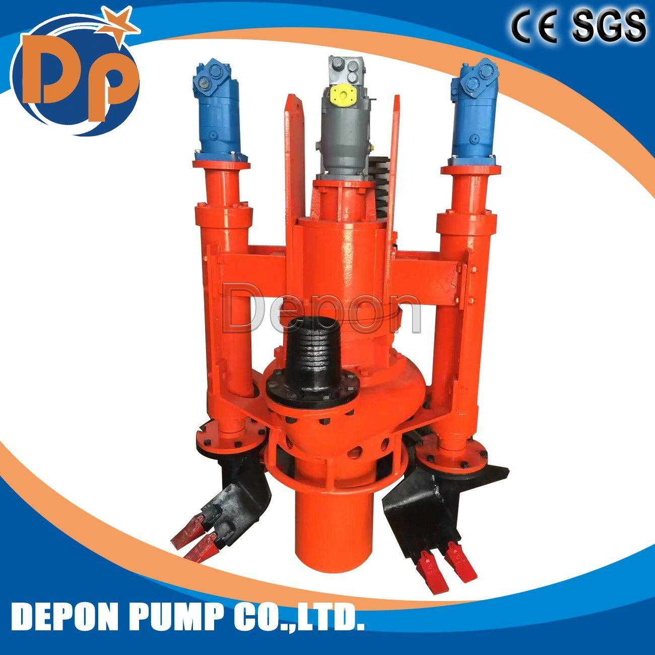 Submersible Sand Pump for Industrial