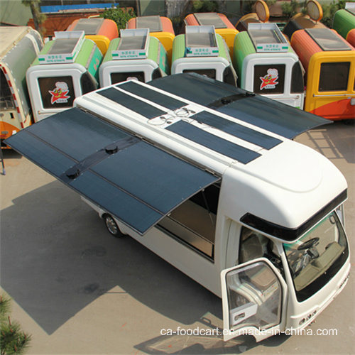 High Quality Solar Electric Food Truck for Sale