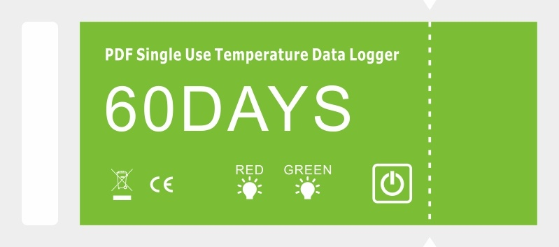 Pdf Single Use Temperature Data Logger 60days