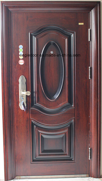 Best Price Security Exterior Steel Iron Door (EF-S079)