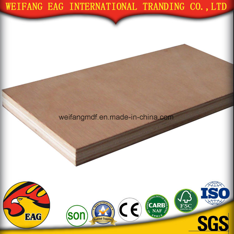 Good Quality 1.2-30mm with Compentition Price Plywood