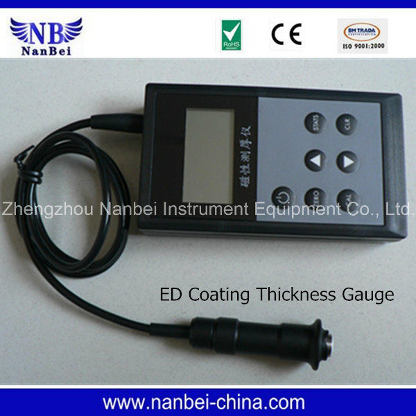 Easy Operation Digital Coating Thickness Gauge with CE