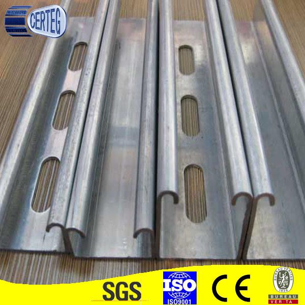 Gi U Channel Steel Beam