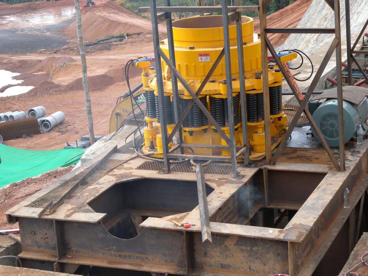 Hematite Iron Ore Crushing Plant