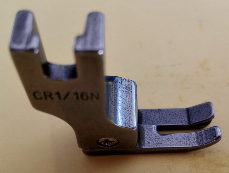 Industry Sewing Machine Parts Preeser Foot Cr1/16n
