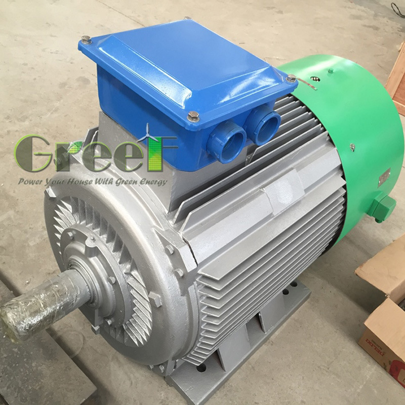 20years Lifespan 20kw 300rpm 50Hz Pm Generator with BV