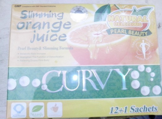 Weight Loss Products Slimming Orange Juice