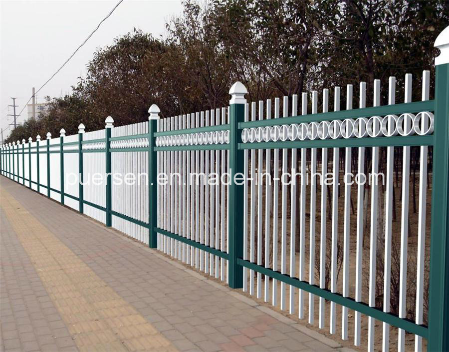 2600mm High Post Garrison Panel Fencing