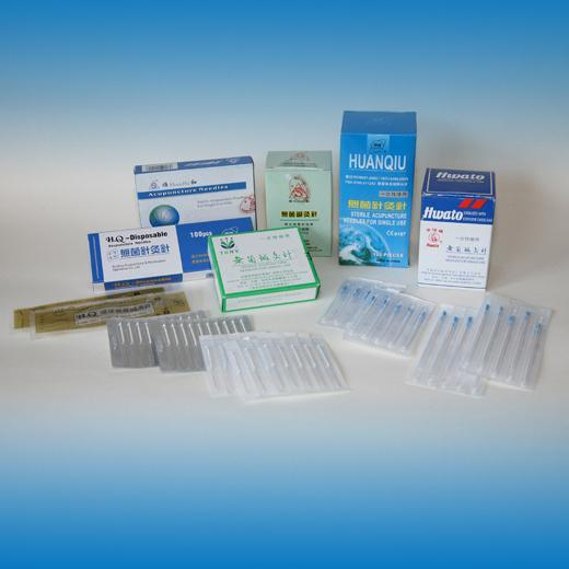 Various Acupuncture Needles