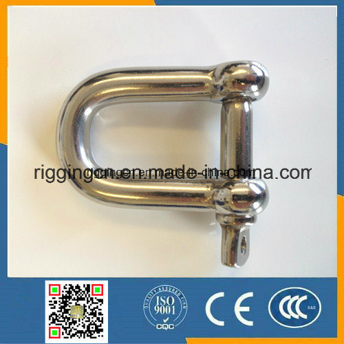 Stainless Steel Polished 304 316 European Dee Shackle