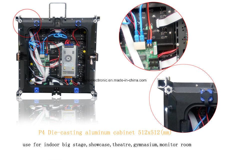 HD RGB P4 LED Display Board, P4 LED Display Indoor, Advertising LED Display