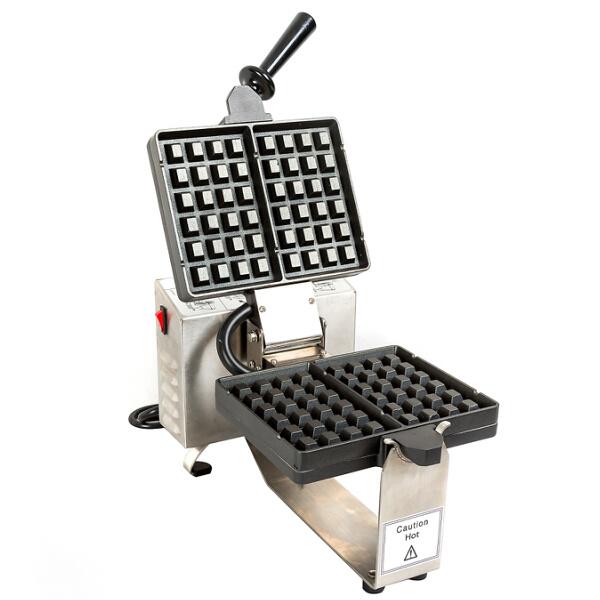 120VAC Appliance Baking Machine Square Plate Belgium Waffle Baker