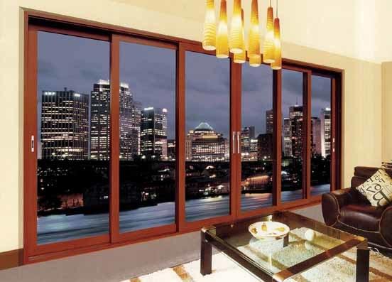 Ritz Customized Heavy Aluminium Sliding Doors Interior Doors
