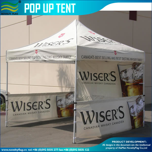 Steel Aluminum Folding Canopy Tent Pop up Glow Marquee Gazebo Roof Top Tent