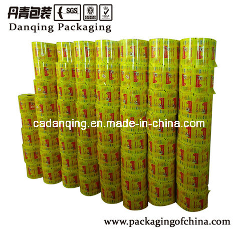 Laminated Plastic Film for Packing Biscuit, Food Packaging