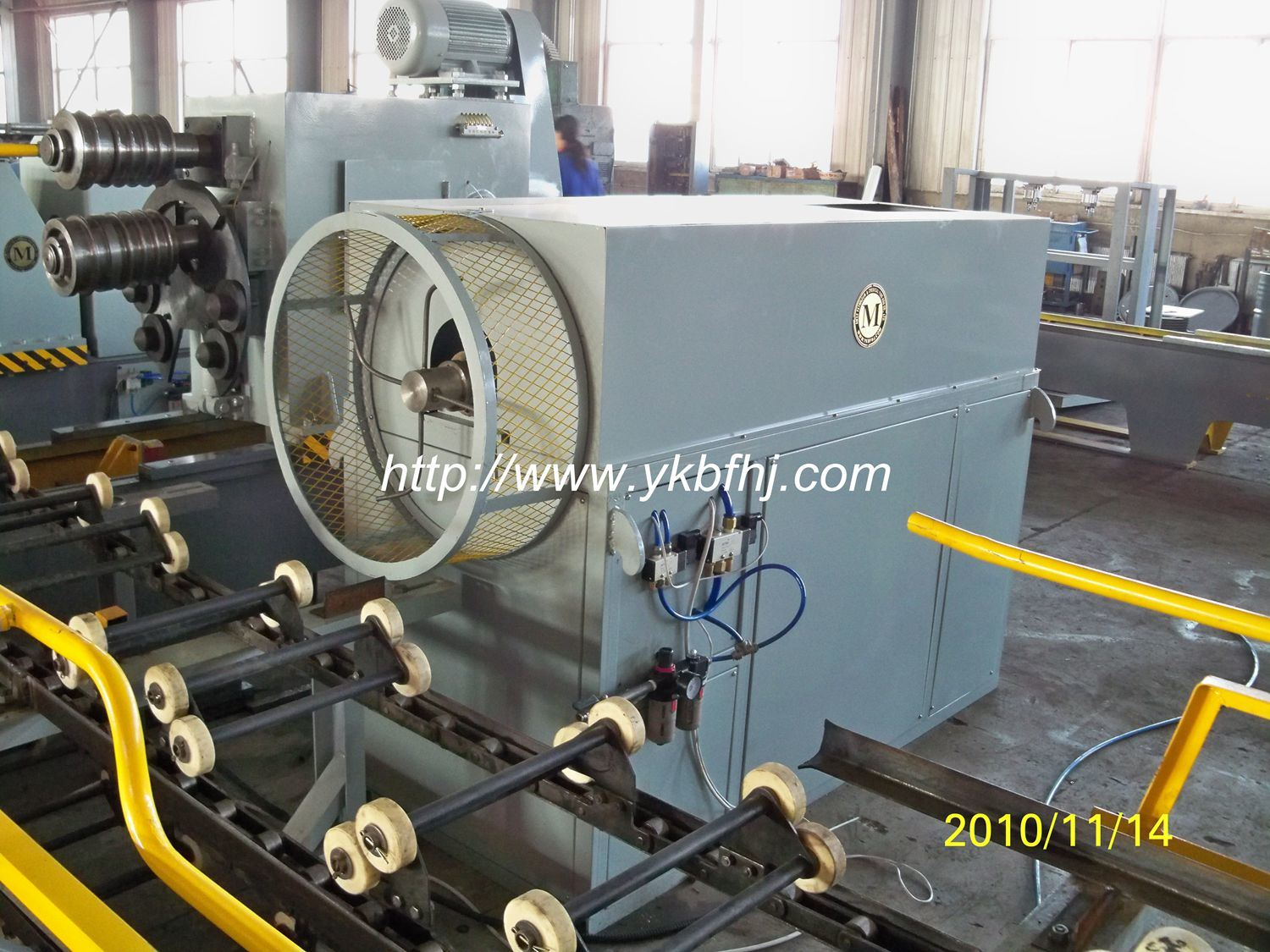 Inside Drum Blowing Machine Provided for Mauser Group
