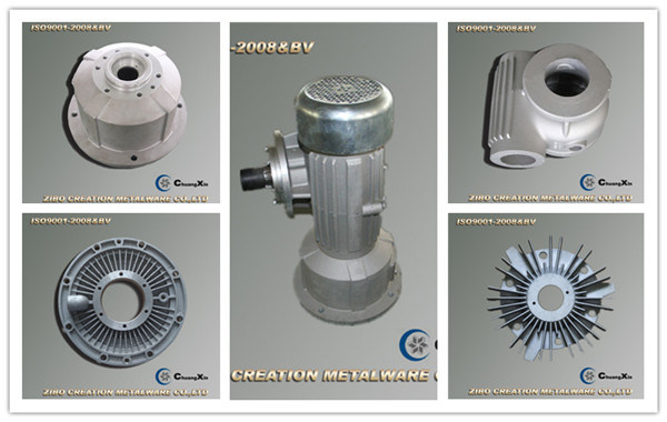 Reducer Gearbox Cast Aluminum Flange Housing