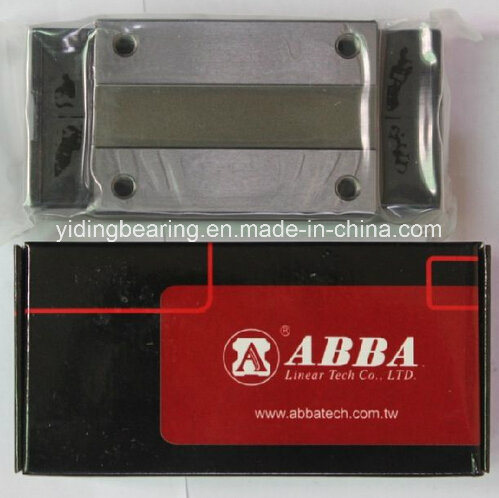 Original Taiwan Linear Guideway Block Bearing for CNC Machine (Abba Brs15b Brs20b Brs25b Brs30b Brs35b Brs45b)