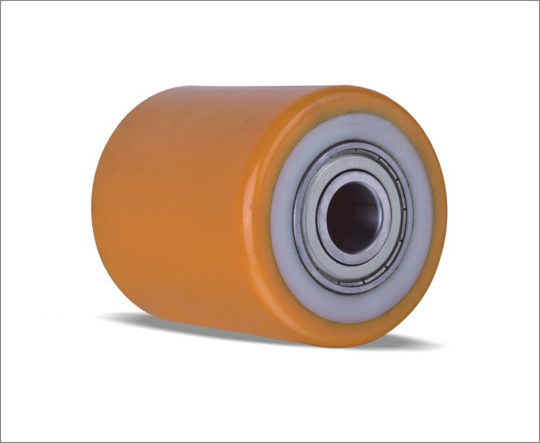 Polyurethane Rollers with Nylon Centre for Hand Trucks