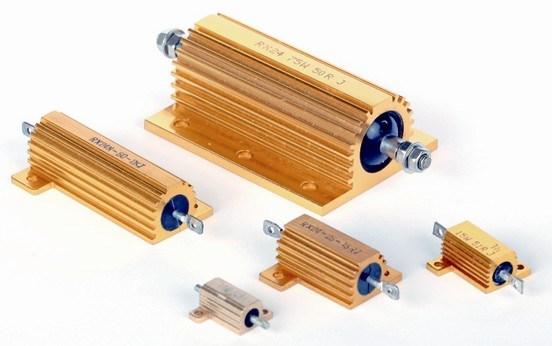 Aluminium Housing Wire Wound Power Resistor