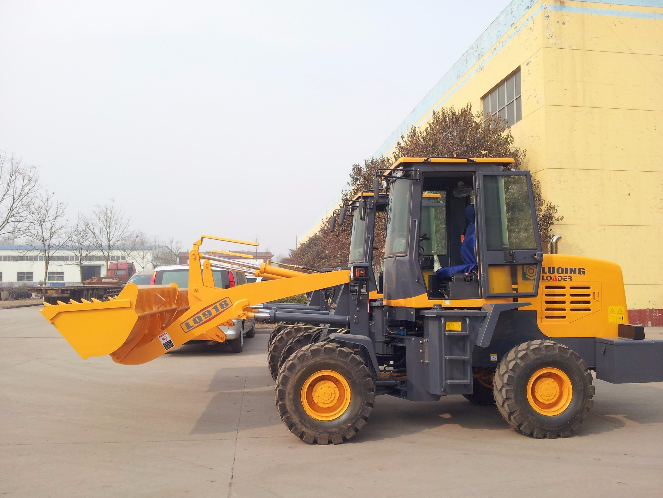 1.8ton Wheel Loader-Medium Size-Pilot Control