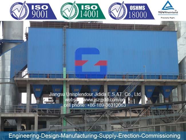 Jdw-745 (ESP) Industrial Electrostatic Precipitator for Cement Plant