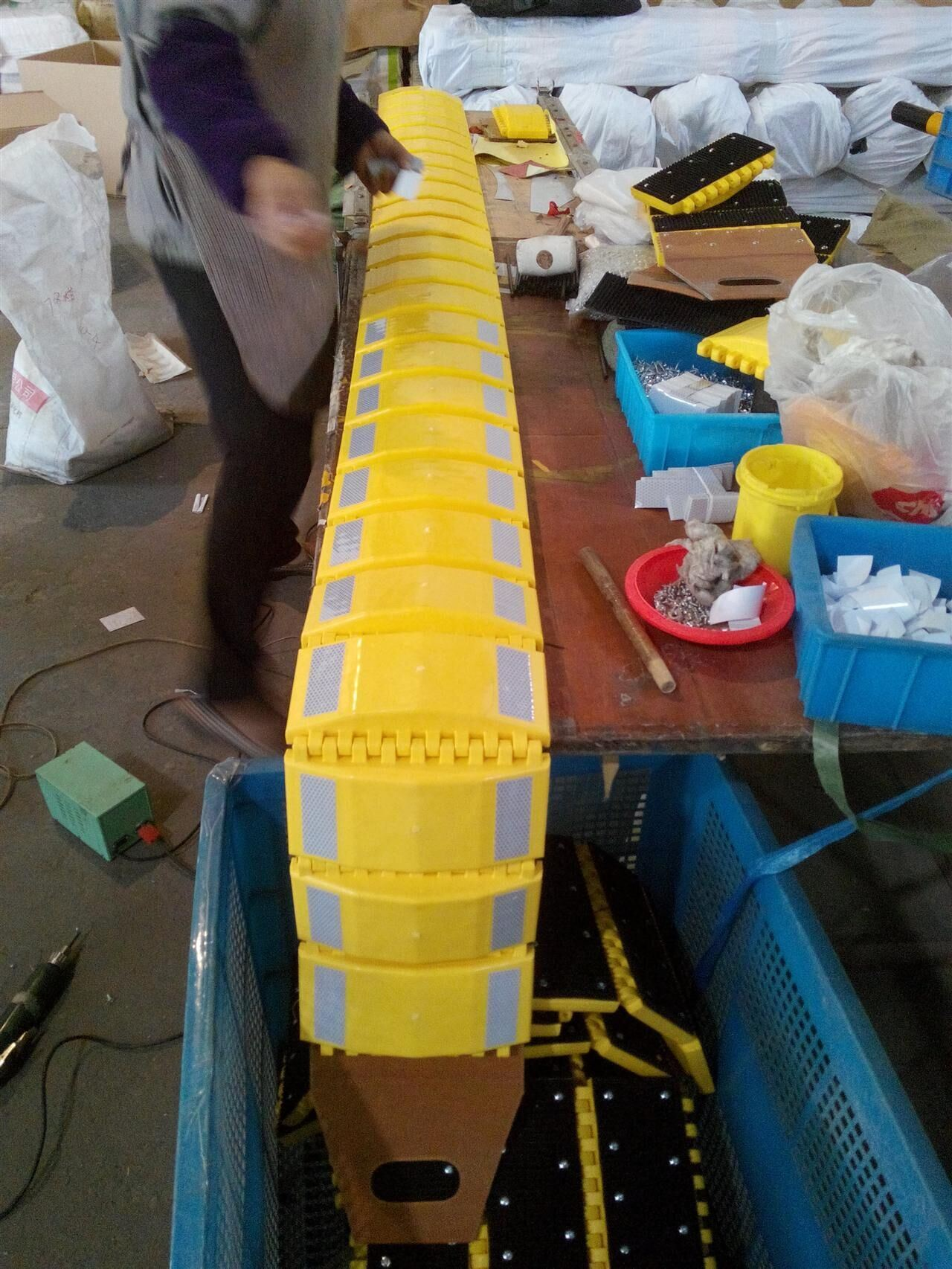 Durable Plastic Speed Hump with Competective Price