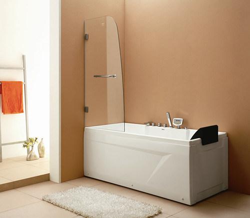 Cabina De Baño Con Tina:Pantalla de la cabina de la ducha de la tina del cuarto de baño (CR