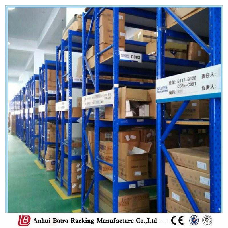Sheet Metal Fabrication Long Span Steel Plate Storage Shelving