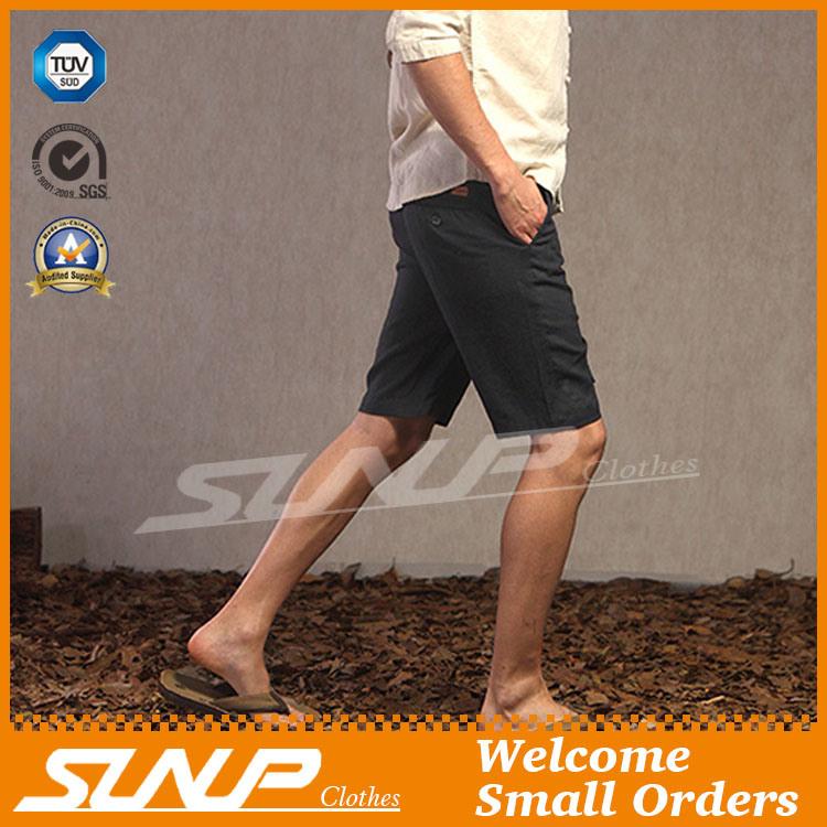 Wholesale Customized Men′s Casual Cotton Chino Short Pants