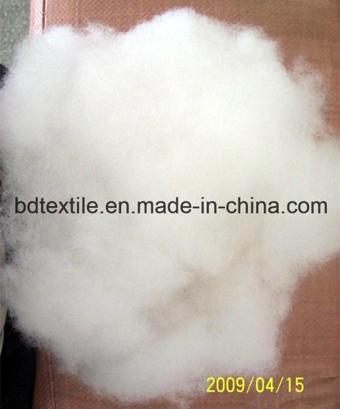 Supper Soft Raw White Polyester Fiber Down Like for 1.2D