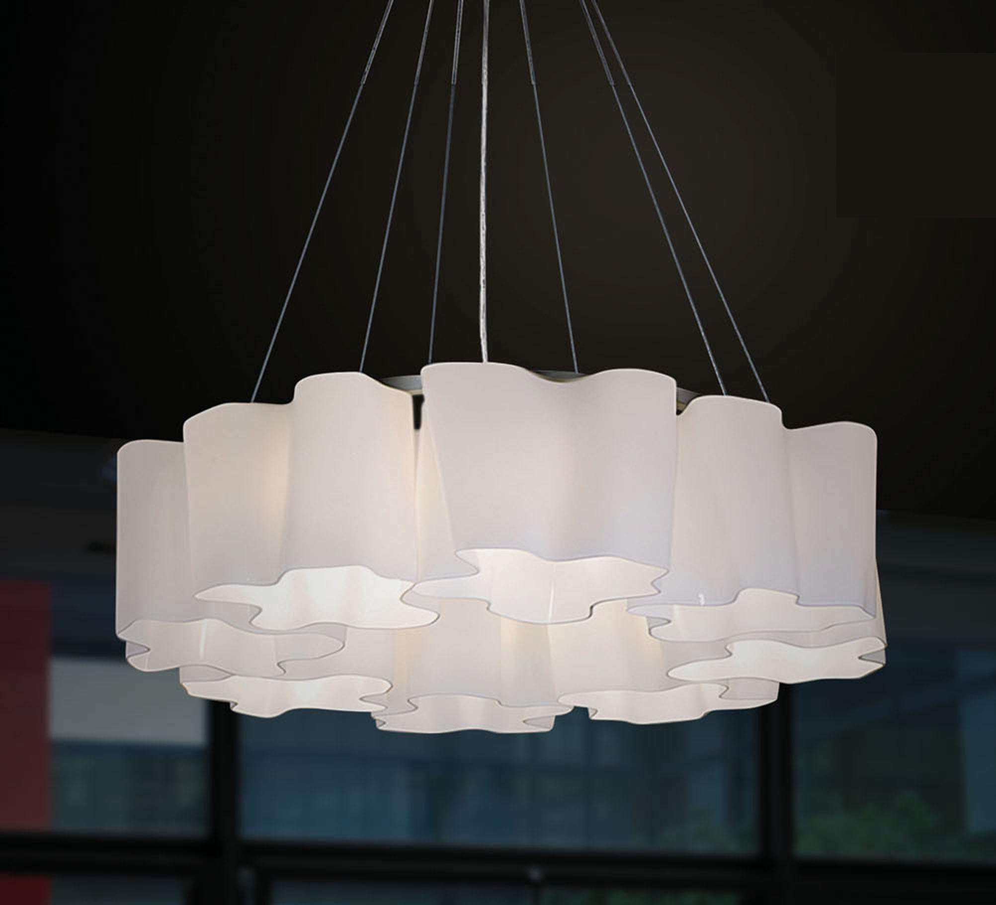White Pendant Lighting (780S2-8)