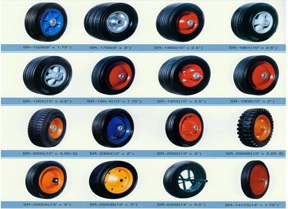 Plastic Solid Rubber Wheels (8X2.5)
