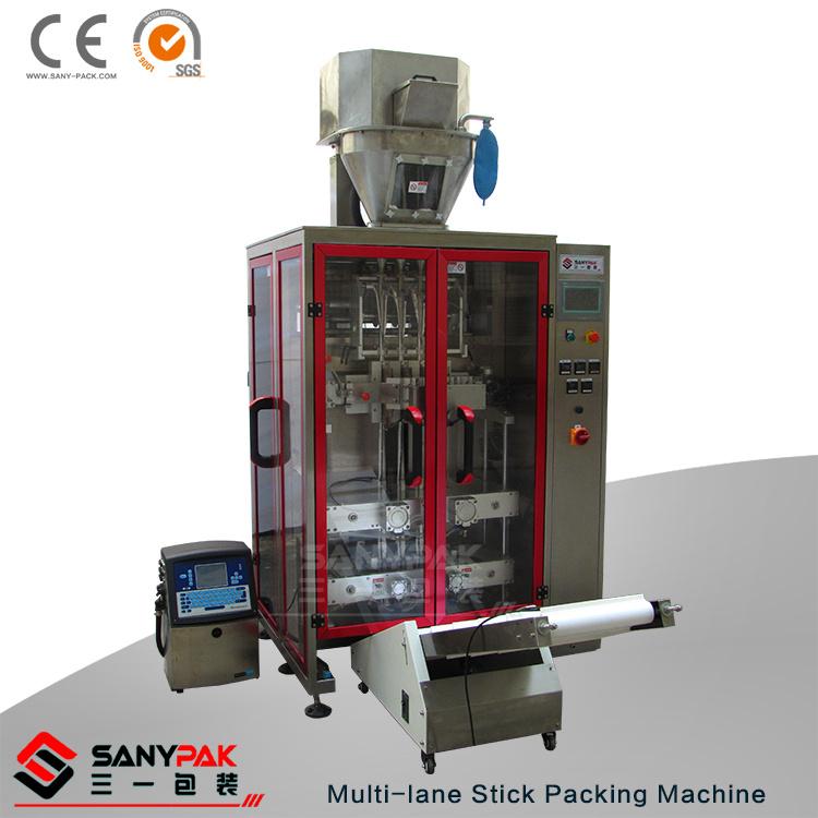 Liquid Powder Granule Multi-Lane Stick Packing Machinery
