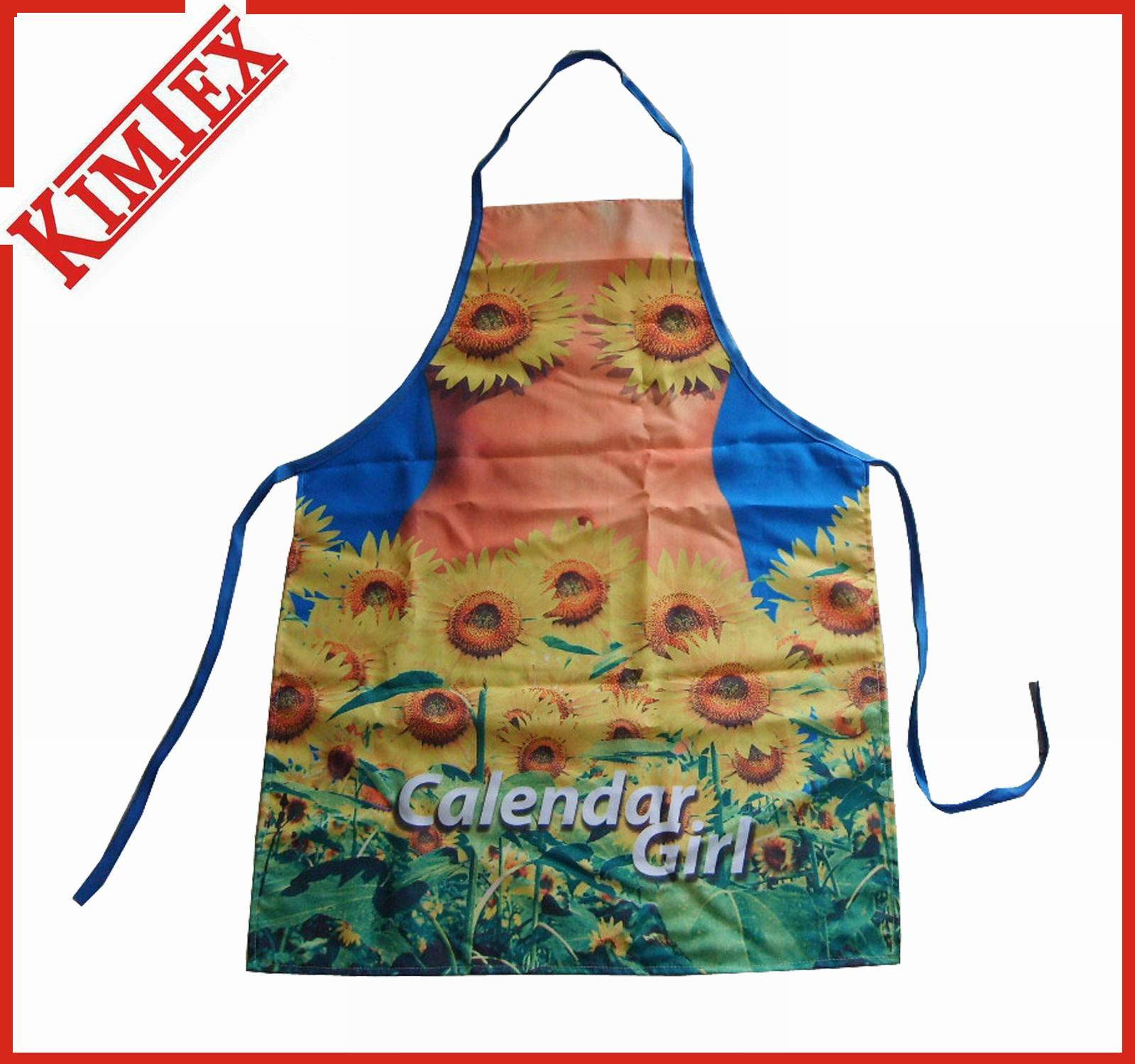 Polyester Garden Sublimation Printing Apron