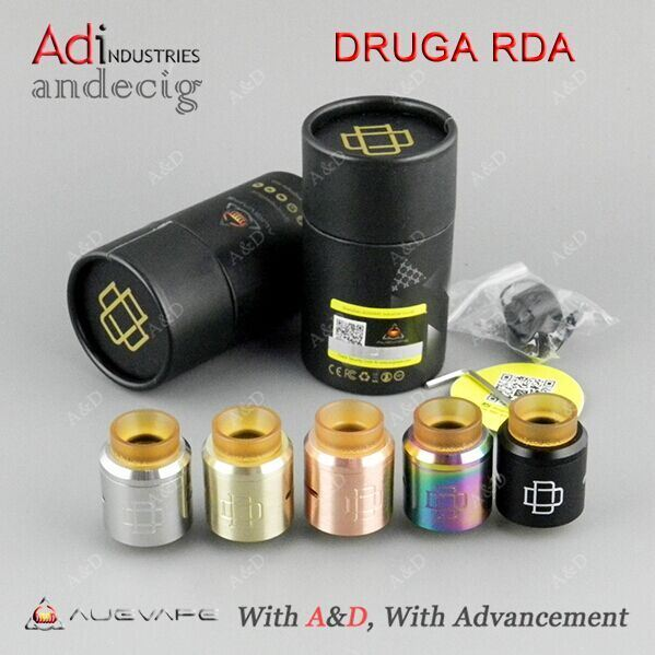 Hottest High Quality Druga Rda Lowset Price Wholesale Atomizer 24mm Druga Rda