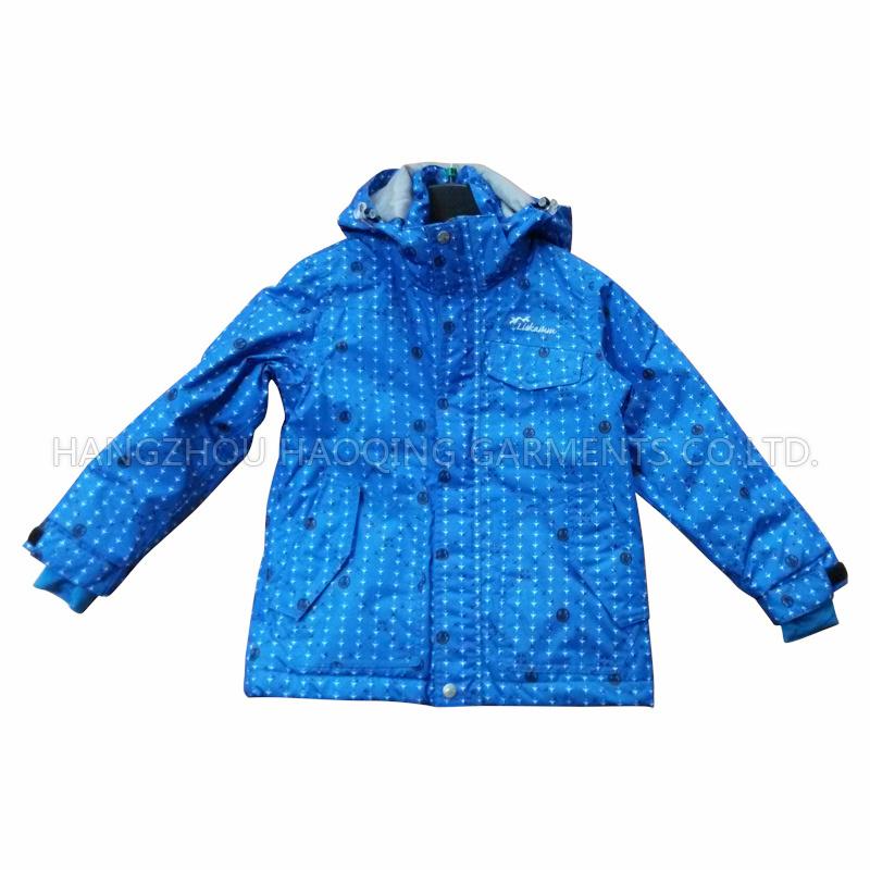 Blue Sealant Waterproof Raincoat for Adult