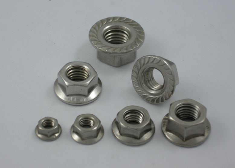 Hexagon Nuts with Flange (DIN 692)