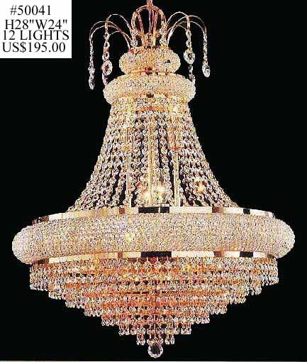 We at Crystal Chandelier Company offer a complete service of