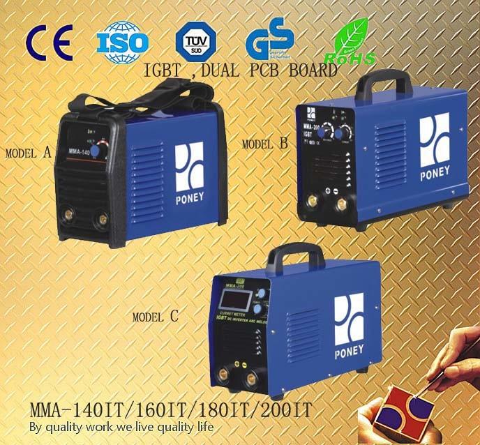 Dual PCB IGBT Welding Machine (MMA-140IT/160IT/180IT/200IT)