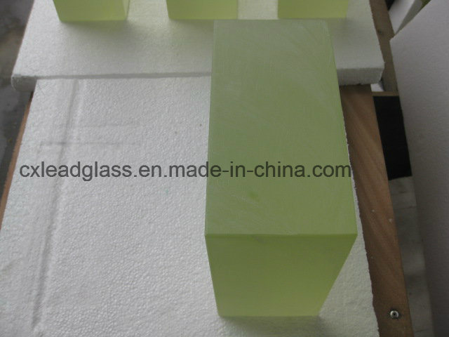 Nuclear Medical / Industrial High Density Zf7 X-ray Glass for Hotcell