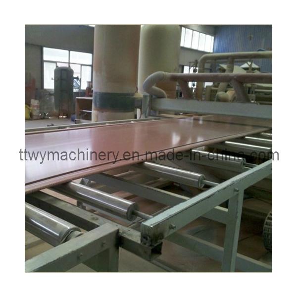 Plastic PVC Sheet Extruder Machinery (SJ80/156)